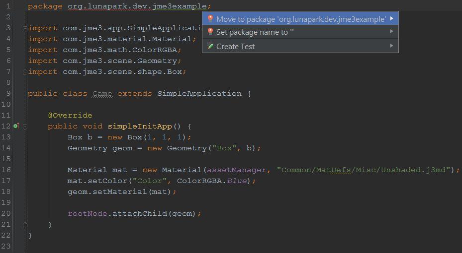 Кроссплатформенное приложение в Android Studio на jMonkeyEngine 3 - 4
