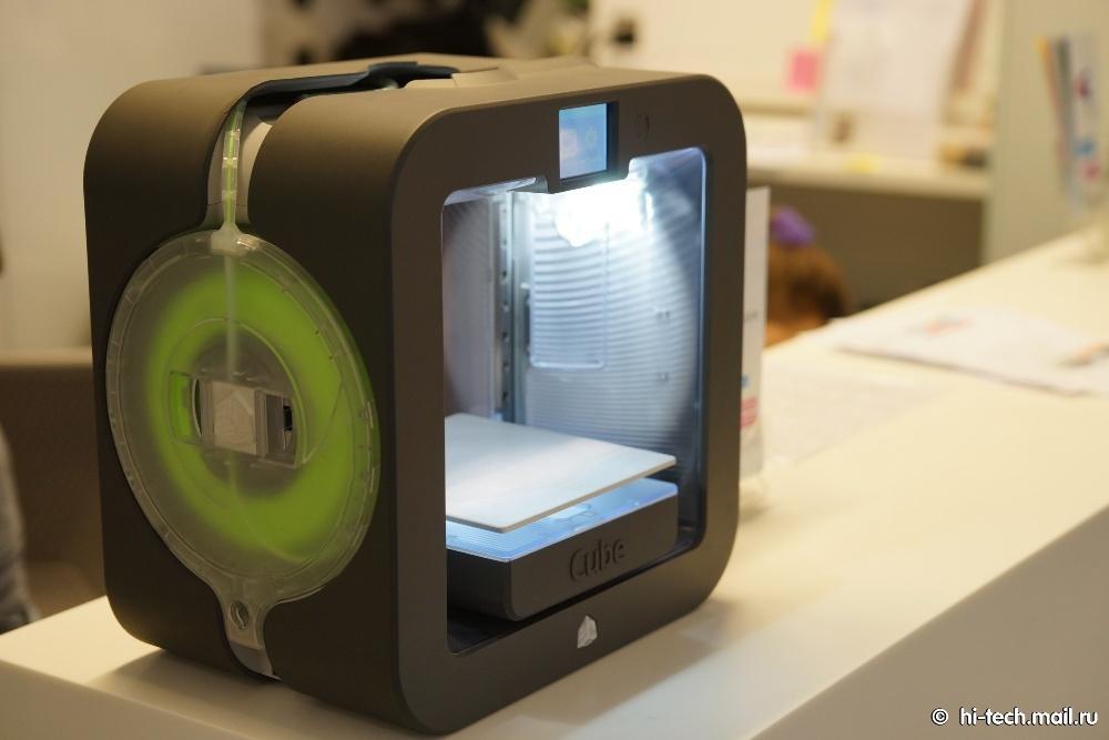 Обзор самых популярных 3D-принтеров: UP! Plus 2 и Cube 3 - 1