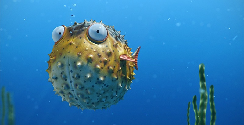 Blowfish на страже ivi - 1