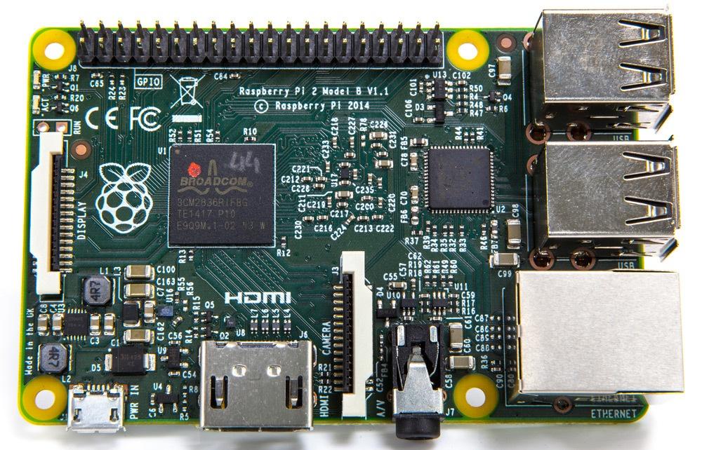 Raspberry Pi 2: 4 ядра, гигабайт ОЗУ, в шесть раз больше производительности - 2