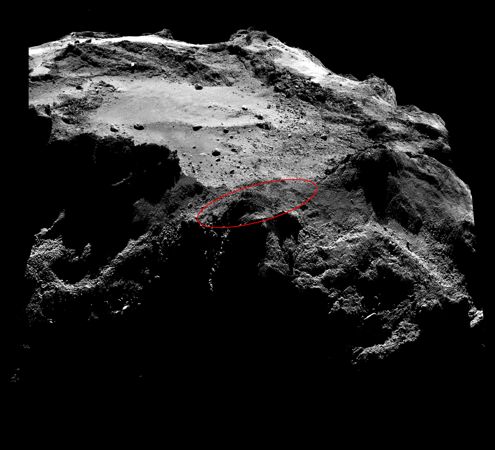 ЕКА опубликовало новые фотографии посадки «Филы», которые могут помочь найти аппарат - 2