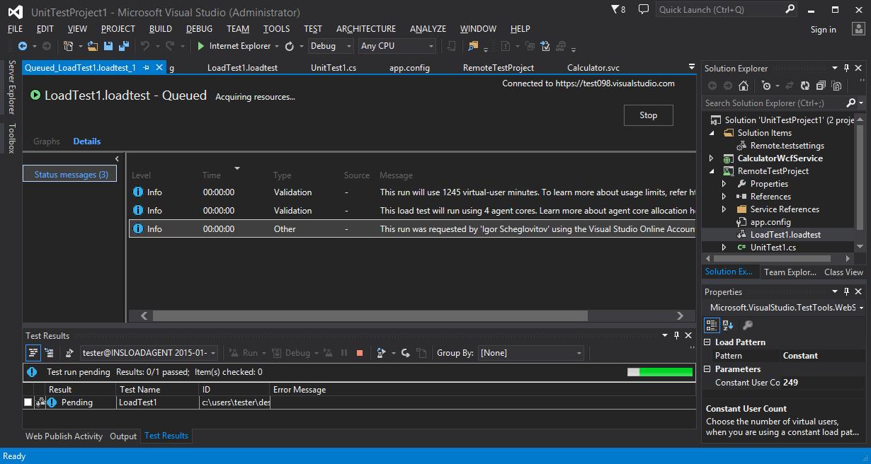 Инструменты тестирования Visual Studio Online, опыт использования и сравнение с ручным подходом - 13