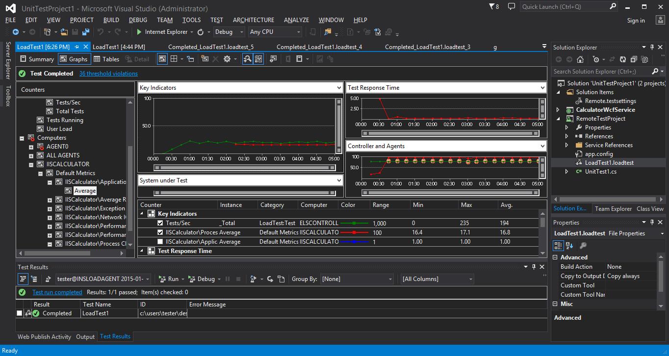 Инструменты тестирования Visual Studio Online, опыт использования и сравнение с ручным подходом - 16