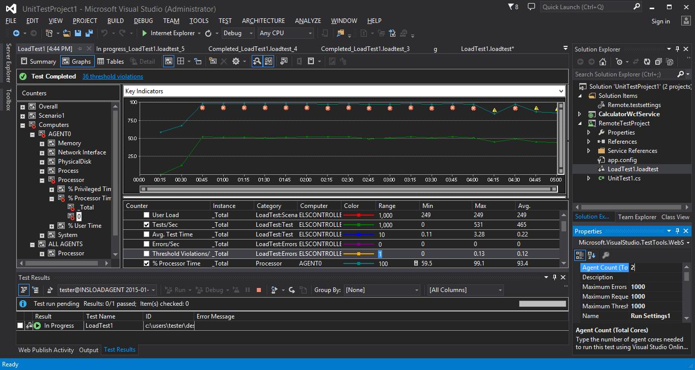 Инструменты тестирования Visual Studio Online, опыт использования и сравнение с ручным подходом - 17