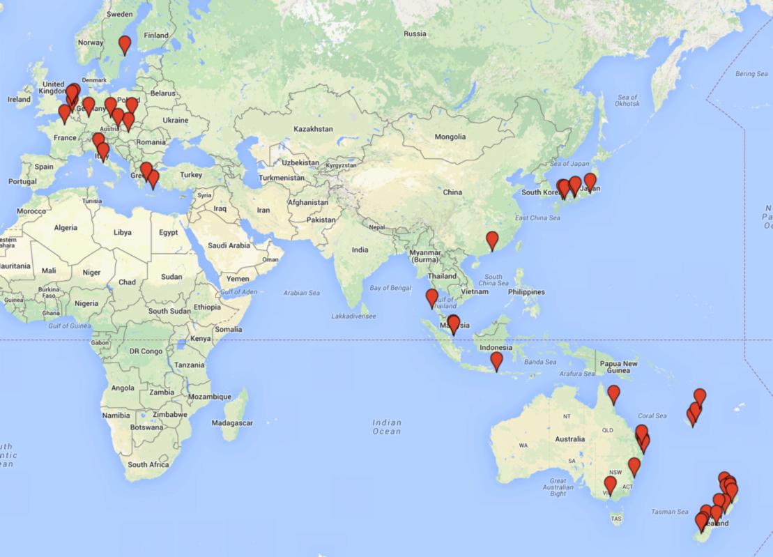 Как я построил стартап, путешествуя по 20 странам - 1