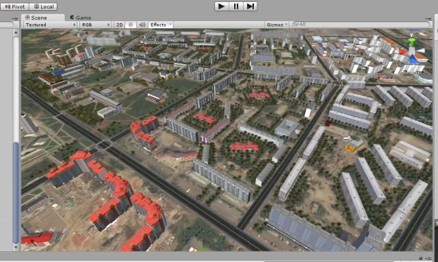 Проект 3D ГИС городского пространства - 4