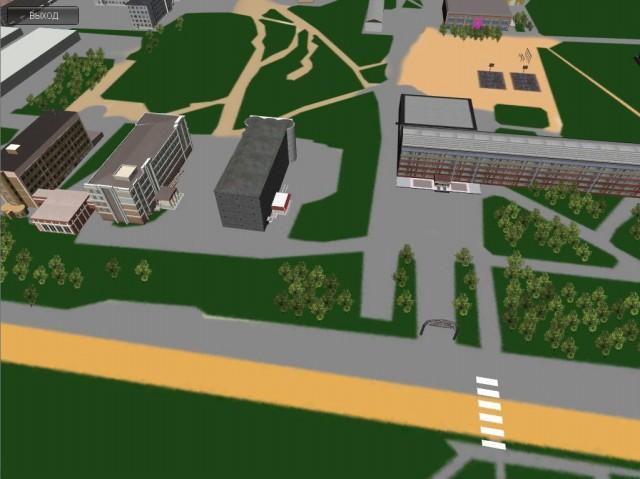 Проект 3D ГИС городского пространства - 1