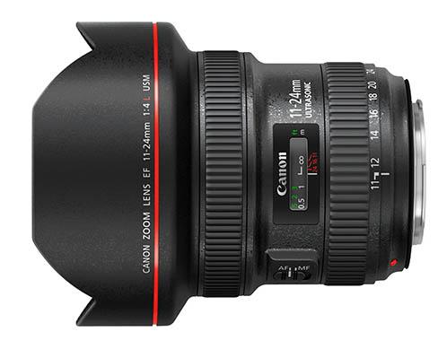 Анонс объектива Canon EF 11-24mm f/4L USM ожидается в ближайшее время