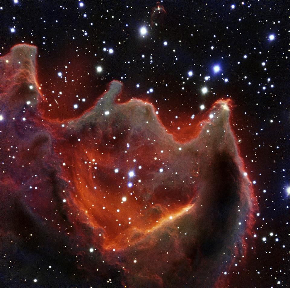 Ученые сфотографировали туманность «Пасть чудовища» - 1
