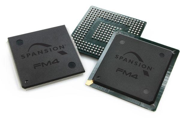 Новые микроконтроллеры Spansion предназначены для промышленной и потребительской электроники
