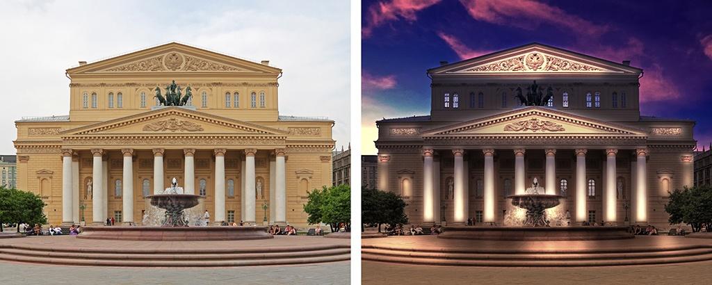 Визуализация архитектурного освещения - 1