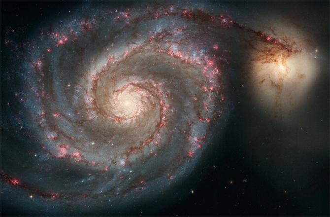 Хаббл постоянно обнаруживает галактики расположенные очень далеко от нас - 7