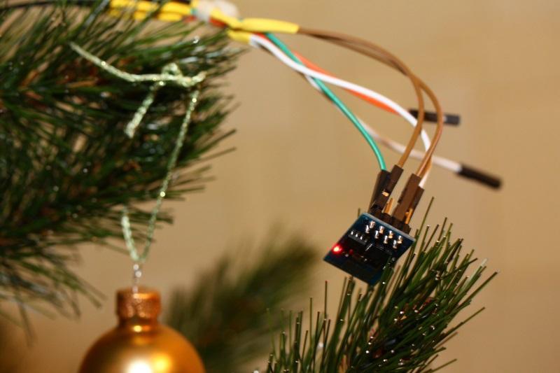 Новогодняя звезда с Wi-Fi на базе ESP8266 - 1