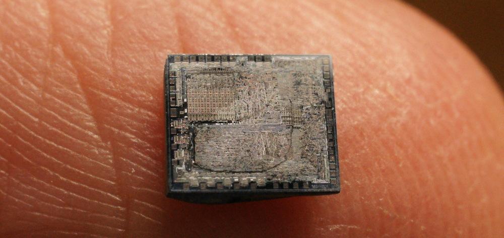 Реверс-инжениринг КР580ВМ80А - i8080 завершен - 2