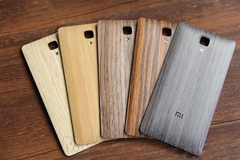 Xiaomi Mi4 снабдили деревянной задней крышкой
