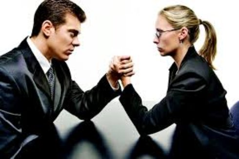 Женщина и мужчина о работе   психология