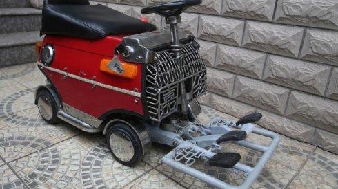 Миниатюрный электромобиль за 250 долларов