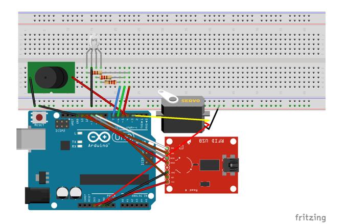 Модель системы контроля и управления доступом на предприятии на базе Arduino - 3