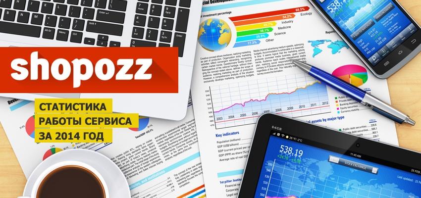 Пересылка посылок из-за рубежа через Shopozz: немного статистики за 2014 год - 1