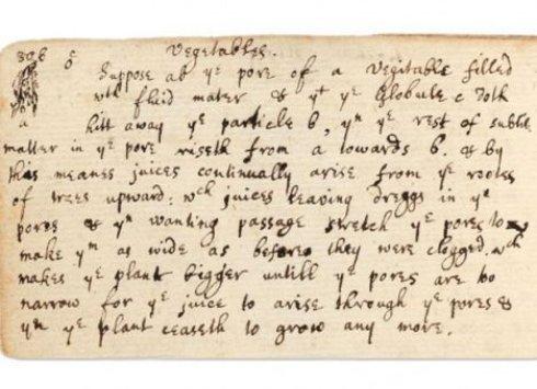 В Великобритании найдена неизвестная теория Ньютона