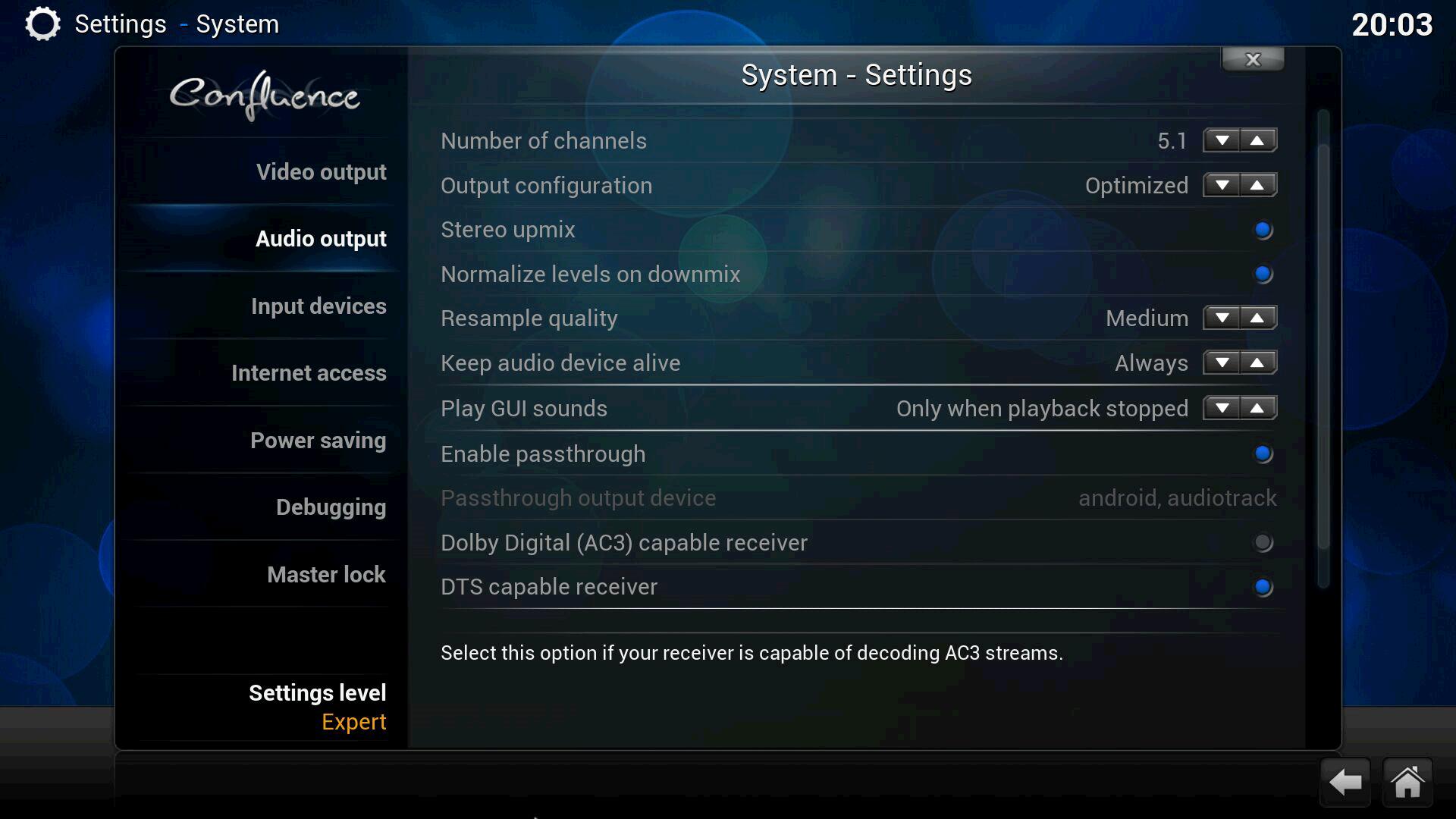Выбор и настройка медиацентра на базе Android - 4