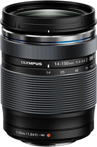 Olympus M.Zuiko Digital ED 14-150mm 1:4.0-5.6 II относится к категории универсальных объективов