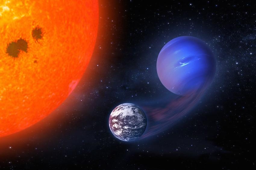 Газовые гиганты могут трансформироваться в потенциально обитаемые планеты - 1