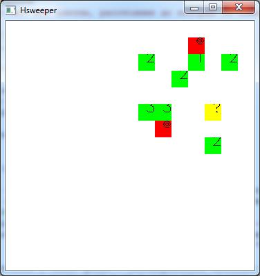 Мины в Haskell и Gloss: быстрое прототипирование интерактивной графики - 3