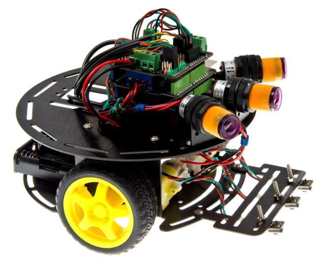 Обзор робототехнической платформы Strela или простой bluetooth-бот своими руками - 7