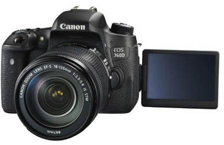 Основой камеры Canon EOS 760D послужит датчик типа CMOS разрешением 24,2 Мп