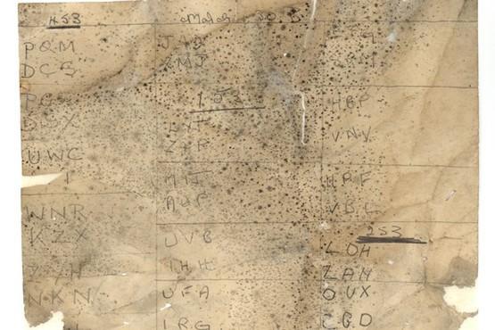 Страницы из блокнота Алана Тьюринга использовались для изоляции крыши - 7