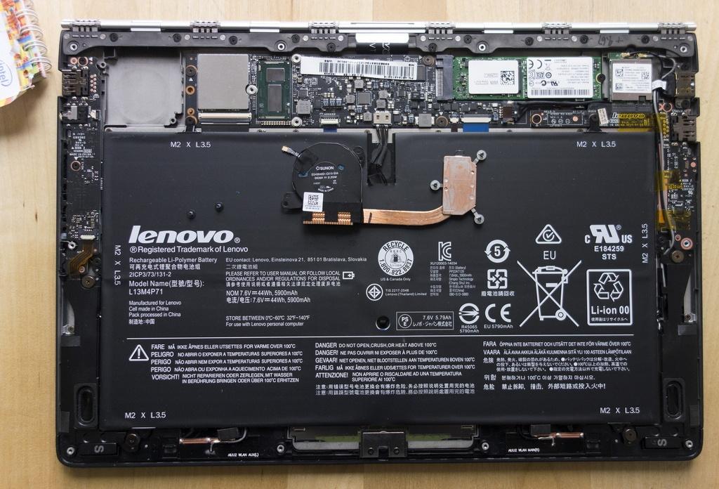 Ультрабук-трансформер Lenovo Yoga 3 Pro: Intel Core M в хорошем окружении - 12
