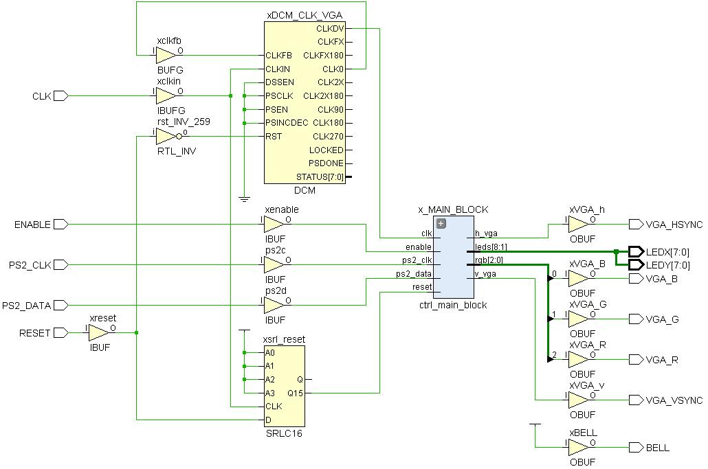 Minesweeper на FPGA - 10