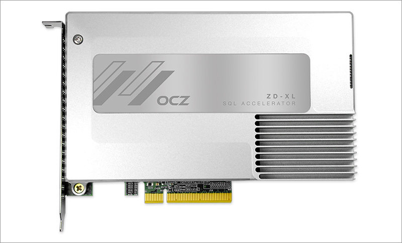 OCZ ZD-XL SQL Accelerator. Enlarge your SQL - 1