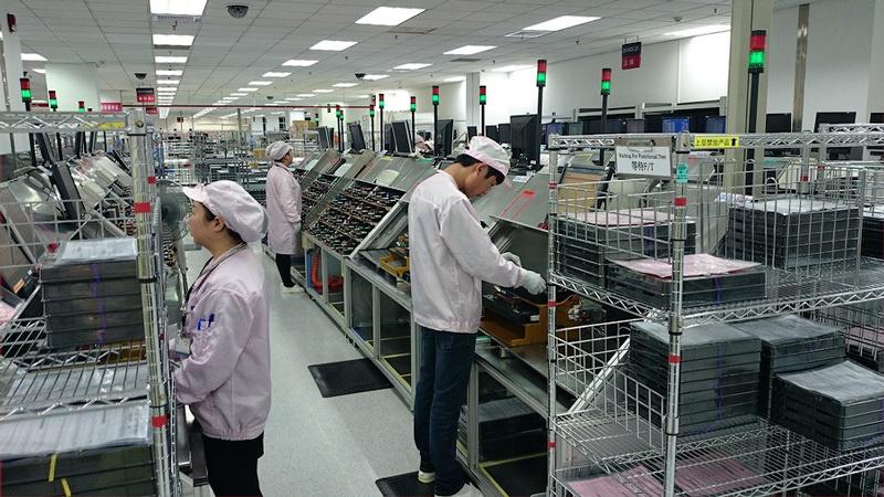 Экскурсия по заводу Kingston в Шанхае - 10