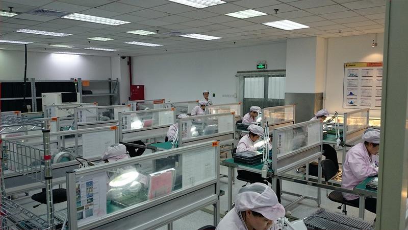 Экскурсия по заводу Kingston в Шанхае - 11