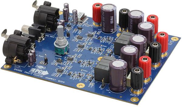 Усилитель EPC EPC9106 предназначен для компактных устройств