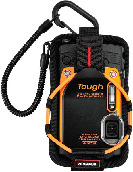 Объектив камеры Olympus Stylus Tough TG-860 охватывает диапазон ЭФР 21-105 мм