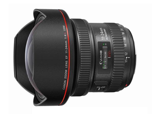 Представлен объектив Canon EF 11-24mm f/4L USM