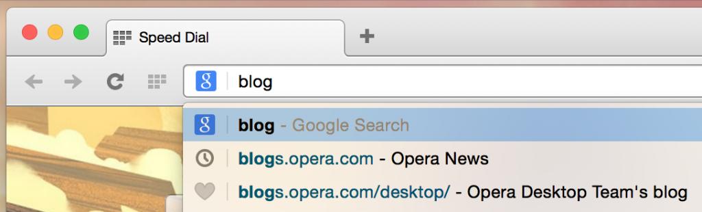 Синхронизация закладок уже в бете Opera 28 - 2