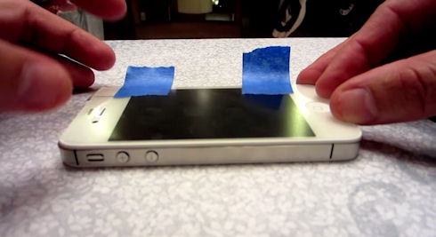 Как без труда наклеить защитную пленку на iPhone?
