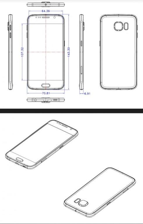 Рассекречен дизайн нового флагмана Samsung Galaxy S6