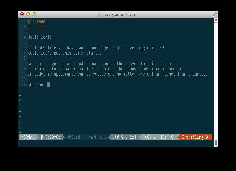 Git game - 1