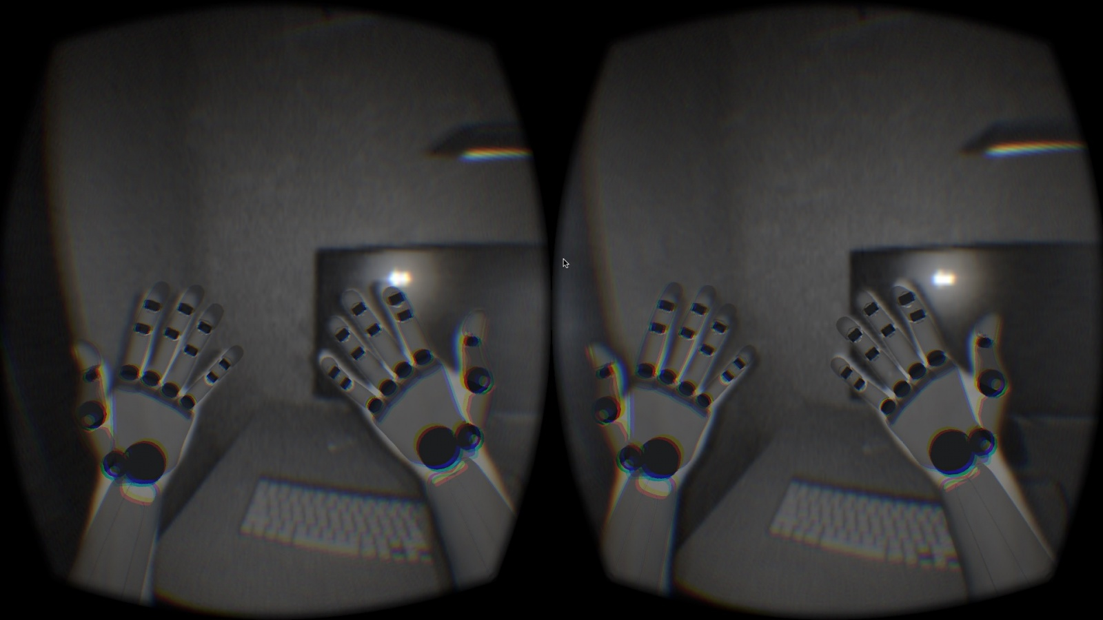 Leap Motion + VRD - 3