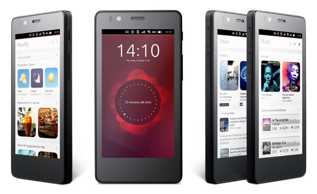 Первый Ubuntu-смартфон появится в продаже на следующей неделе - 1