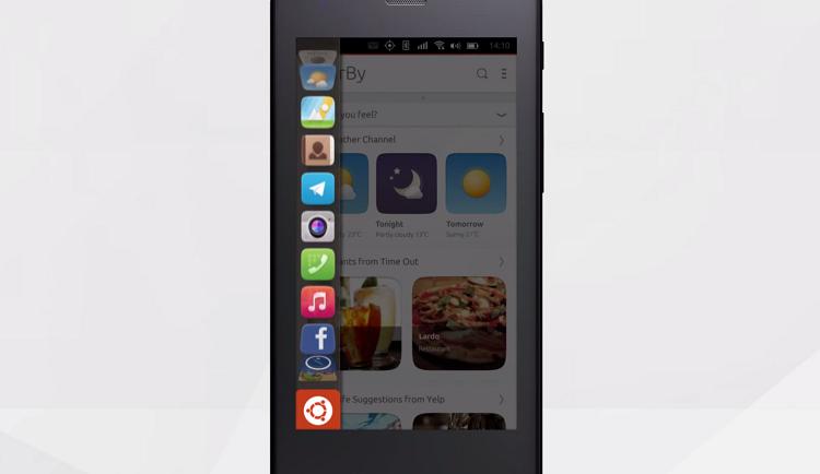 «Телеграм» стал дефолтным мессенджером на Ubuntu Phone - 1