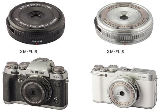 Объектив Fujifilm XM-FL имеет фиксированное фокусное расстояние и  фиксированную диафрагму