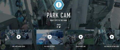В Парке Юрского периода установили веб камеры