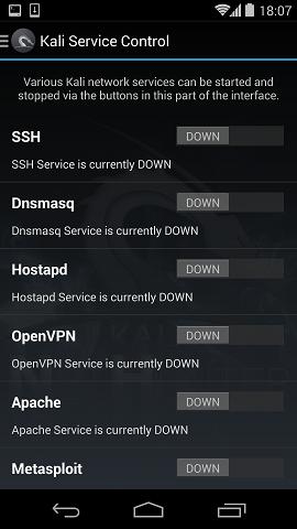 Kali NetHunter. Мобильная pentest-платформа - 2