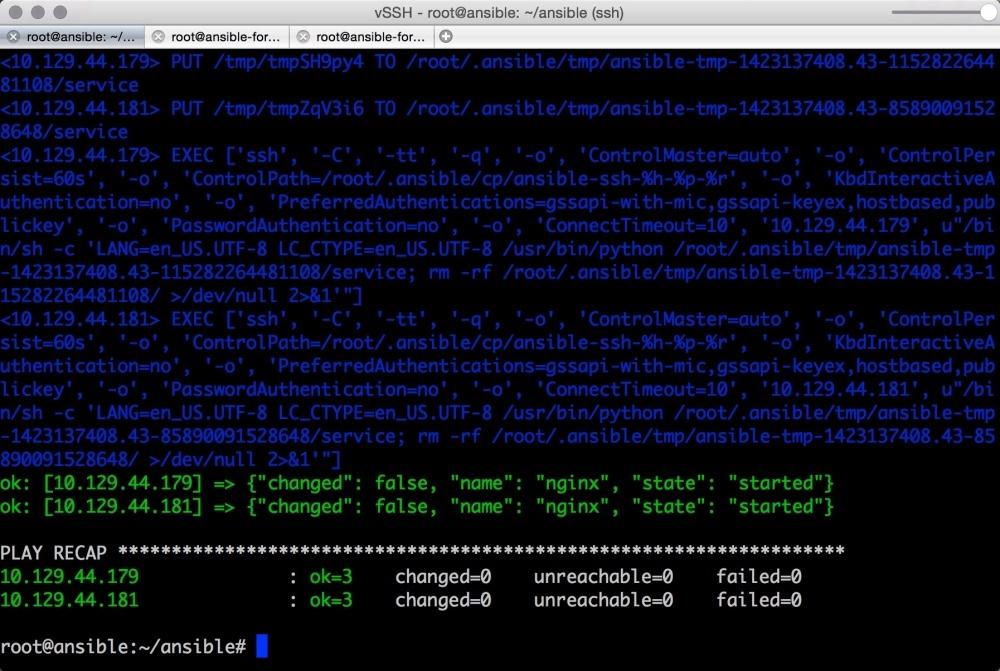Автоматизируем и ускоряем процесс настройки облачных серверов с Ansible. Часть 2: вывод, отладка, и повторное использование playbook - 7